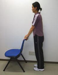 高齢者トレーニング椅子
