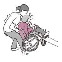不安や恐怖を与えない! 車椅子での段差の越え方の介助【車椅子での段差越え】